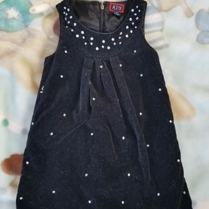 Beautiful The Children's Place black velvety dress